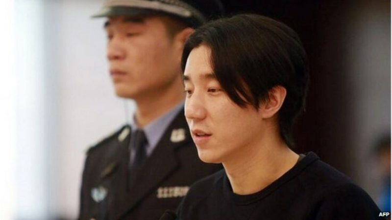 Jacki Chan's Son Was Arrested